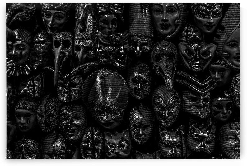 Venetian Masks Pattern by Daniel Ferreia Leites Ciccarino
