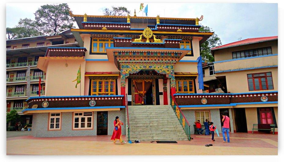 Rumtek Monastery by Nilu Mishra