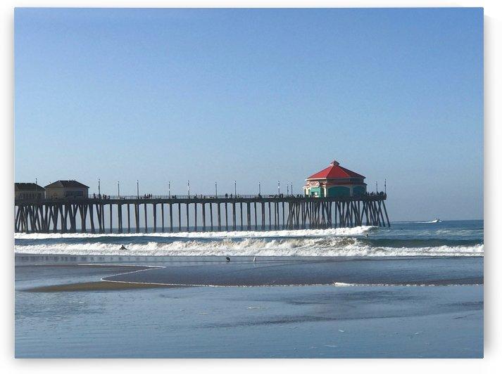Huntington Beach Pier by Purplehaze_Photography