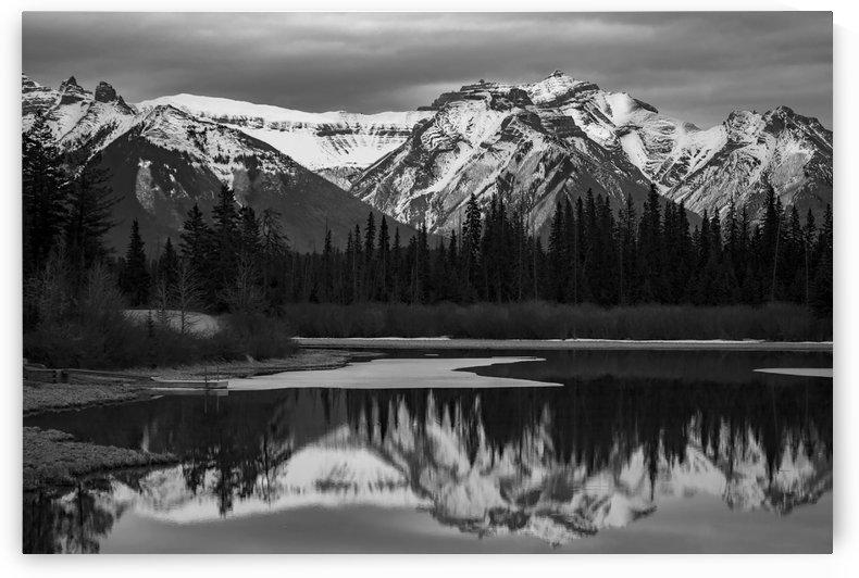 Banff national park by Robert R  Grove
