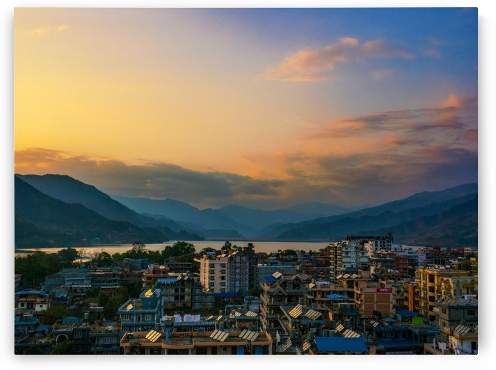 The city of pokhara Nepal by Asia Visions Photography