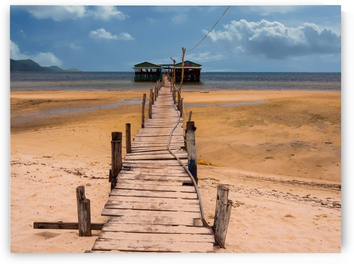 The Dock at Phu Quoc Vietnam by Asia Visions Photography