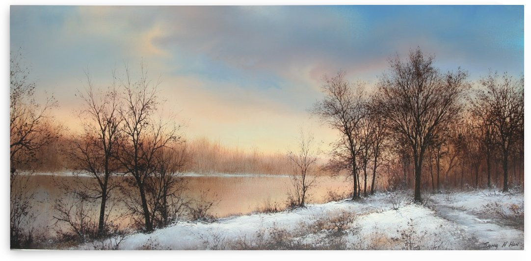 A New Winter Day by Sang H Han