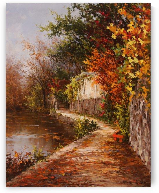 Autumn Memories by Sang H Han
