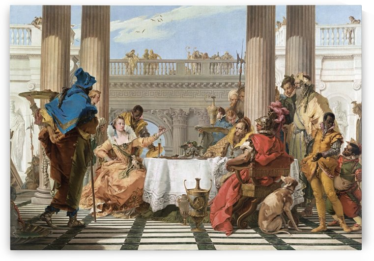 The Banquet of Cleopatra by Giovanni Battista Tiepolo