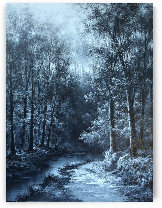 Path Through Winters Kiss by Sang H Han