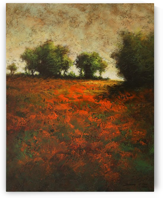 OrangeField1 by Sang H Han