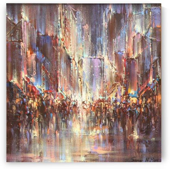Parisian Rains by Sang H Han