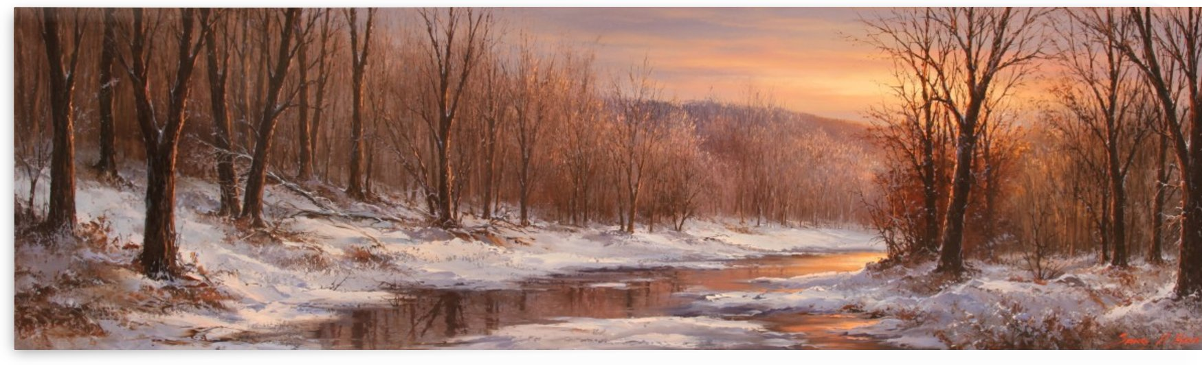 The Snow Relents by Sang H Han