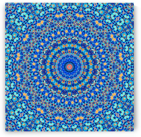 Abstract Mandala III by Art Design Works