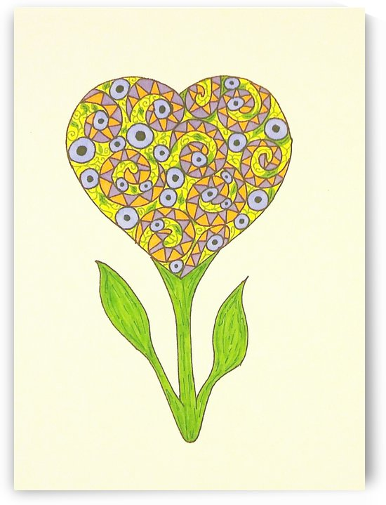 Flower of Love by SarahJo Hawes