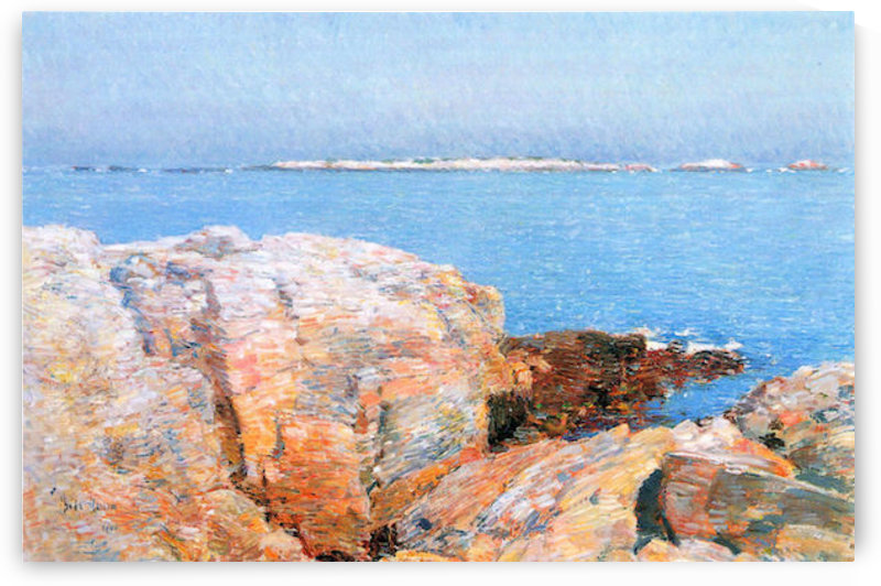 Duck island by Hassam by Hassam