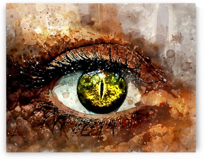 GREEN EYE by ART AND INSPIRATION