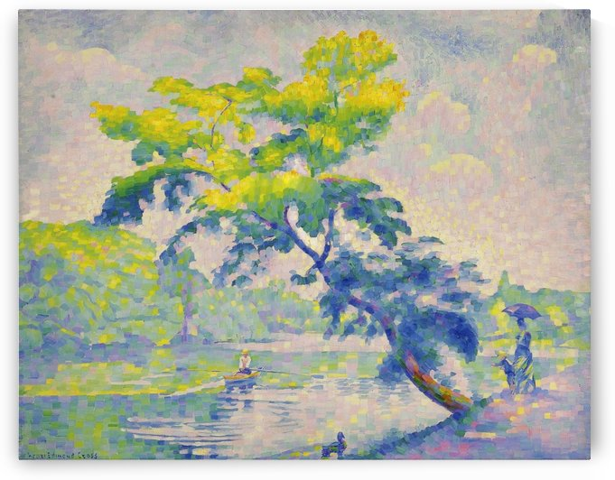 Benting Tree by Henri Edmond Cross