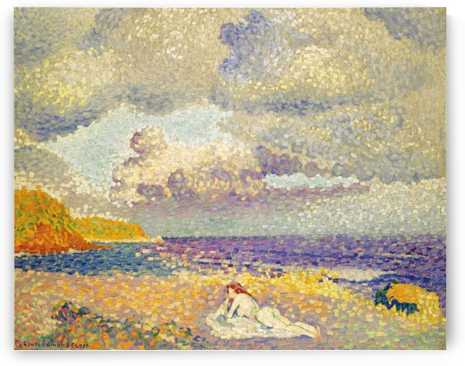 Before the Storm (The Bather) by Henri Edmond Cross