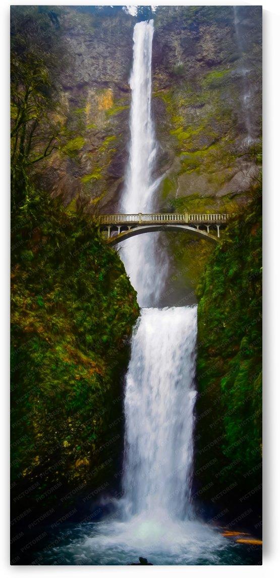 Multnomah Falls by Robin Buckley