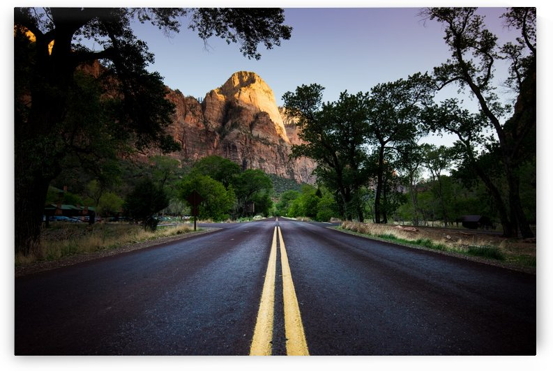 Zion Road by Fabien Dormoy