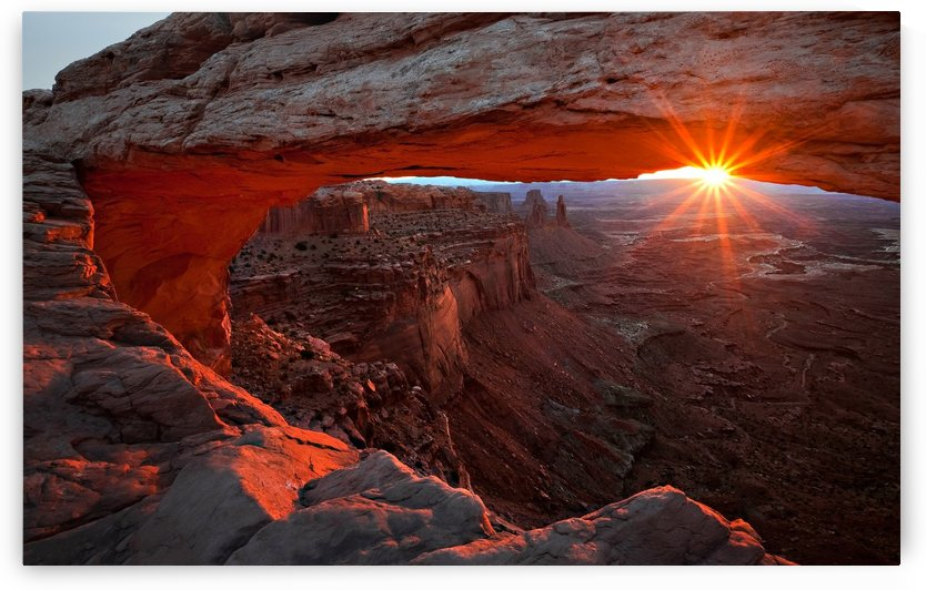 Mesa Arch Sunrise by 1x