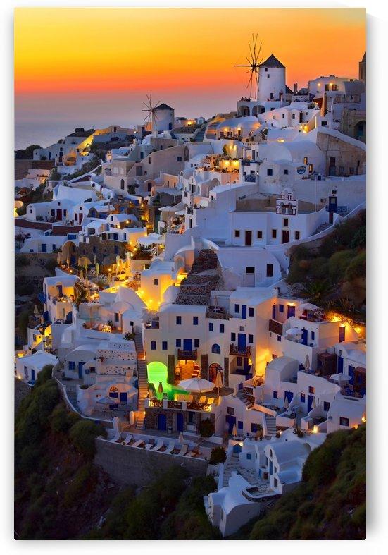 Santorini by 1x