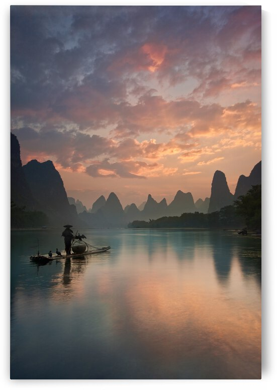 Li River Sunrise by 1x