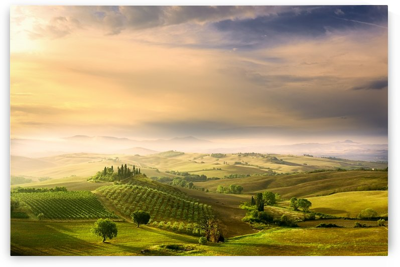 Podere Belvedere's Sunrise by 1x