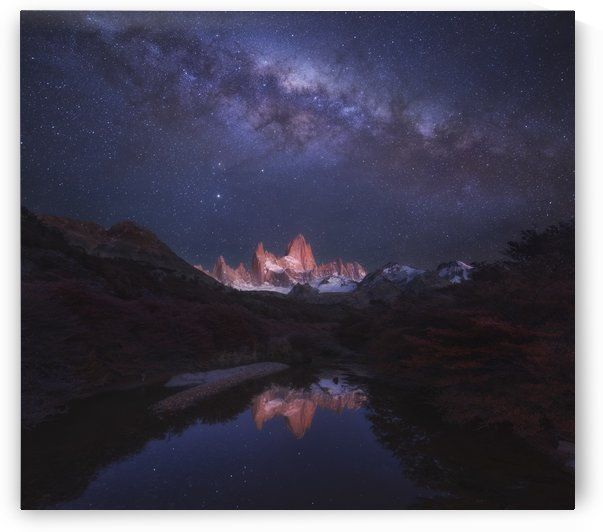 Patagonia Autumn Night by 1x