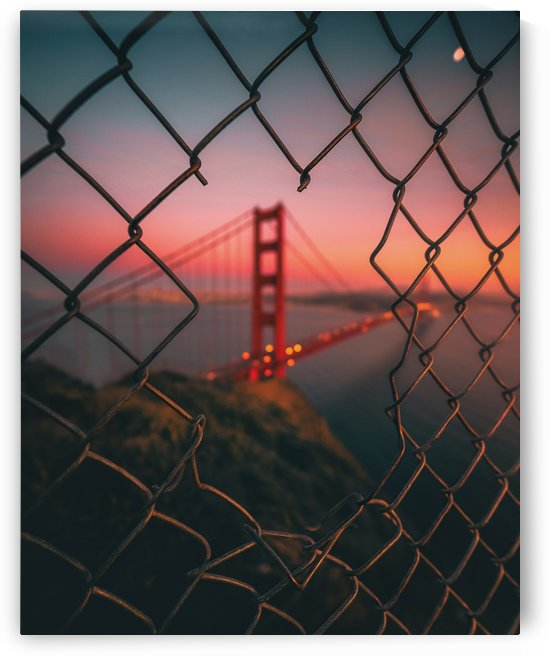 Golden Gate Caged by 1x