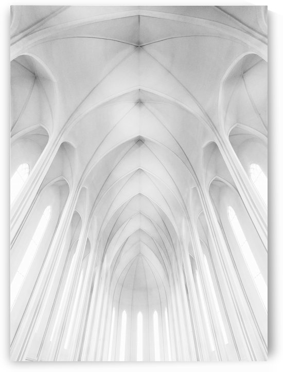 Hallgrimskirkja Church  in Iceland by 1x