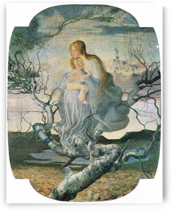 Life angel -2- by Giovanni Segantini by Giovanni Segantini