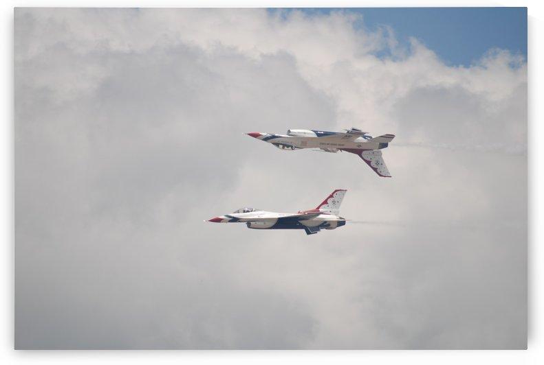 Mirrored Thunderbirds by Matthew Ulisse