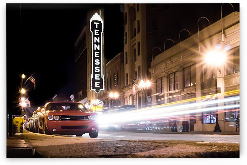 Tennessee Theater Color by Veness Photography