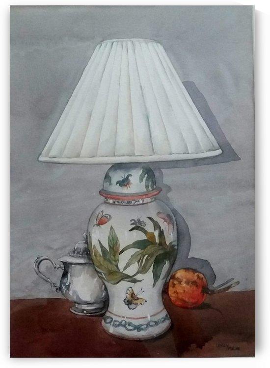 Petas lamp by Lesley Milne