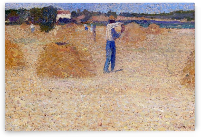 The Reapers of the Wheat by Henri Martin