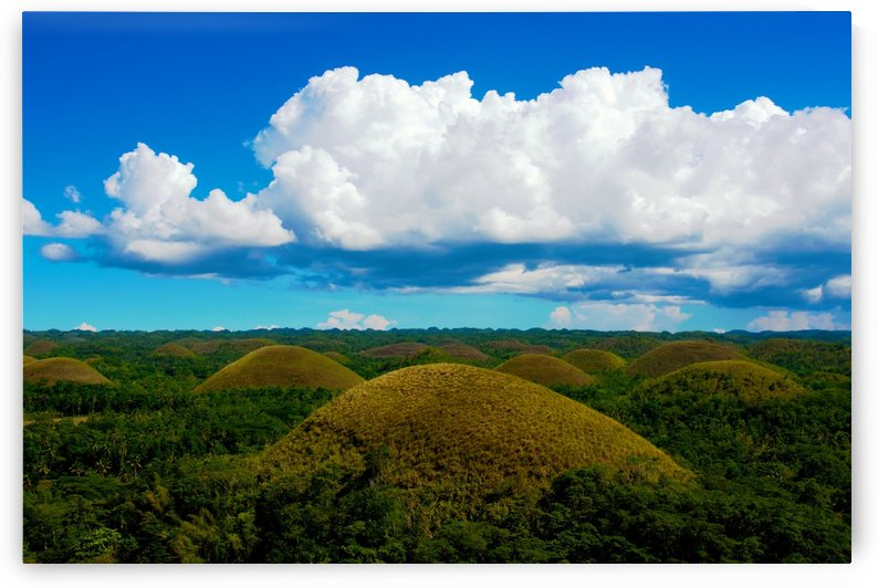 Chocolate hills of Bohol Island by Asia Visions Photography