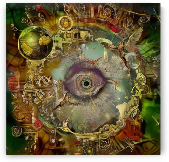 Angels and Gods Eye by Bruce Rolff
