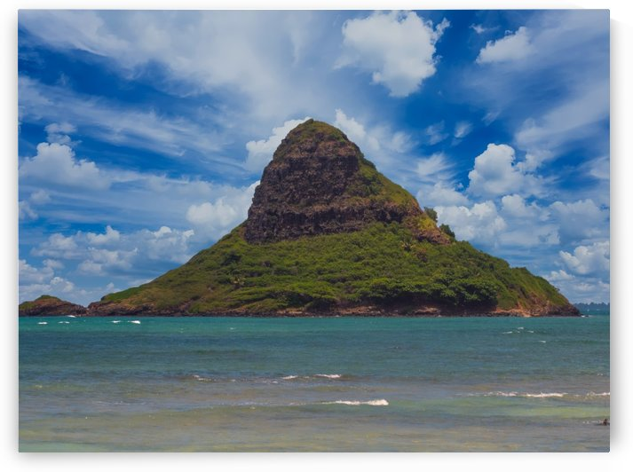 Molii island aka chinamans hat Oahu by Asia Visions Photography