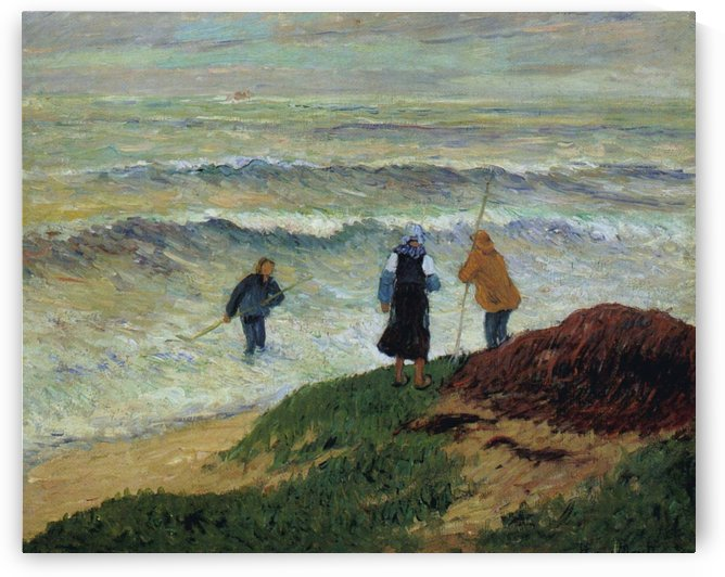Gathering of Seaweeds by Henry Moret