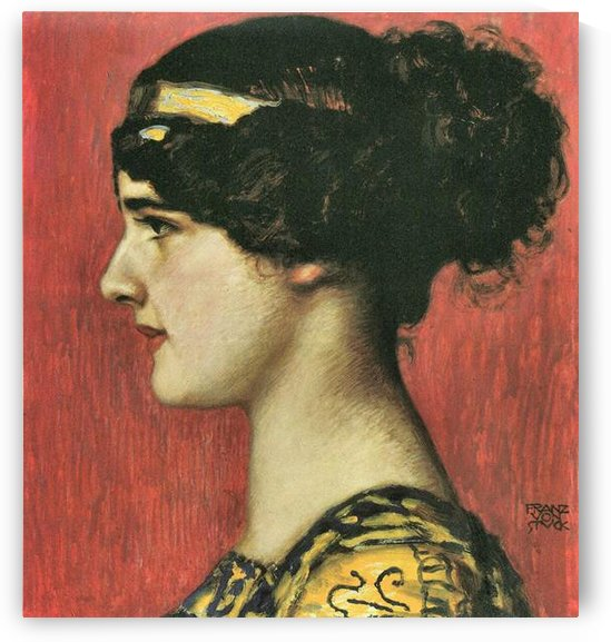 Mary as a Greek  by Franz von Stuck by Franz von Stuck