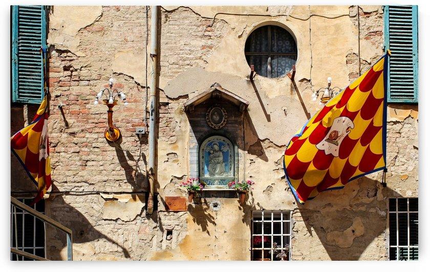 Siena Street Wall by Ira Silence