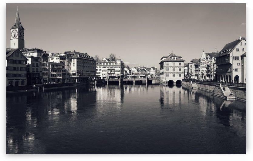 Zurich Bridges by Ira Silence