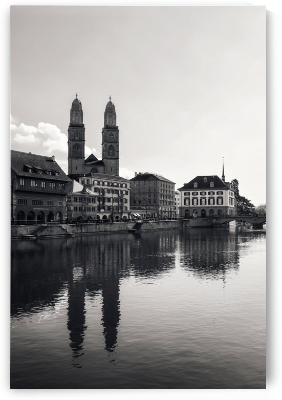 Grossmünster Zurich by Ira Silence