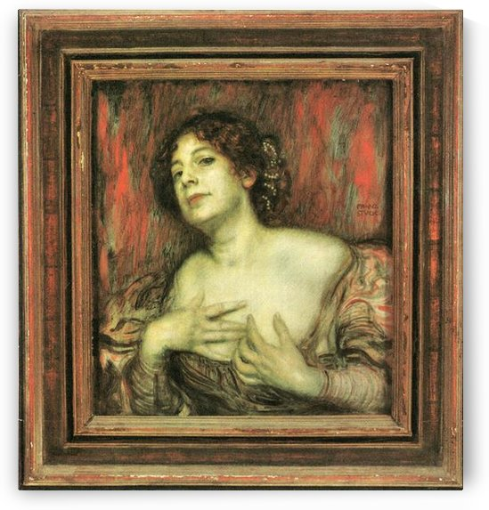 Mary Stuck by Franz von Stuck by Franz von Stuck