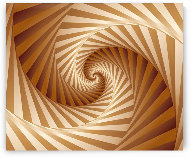 3D EFFECT Spiral Pattern by rizu_designs