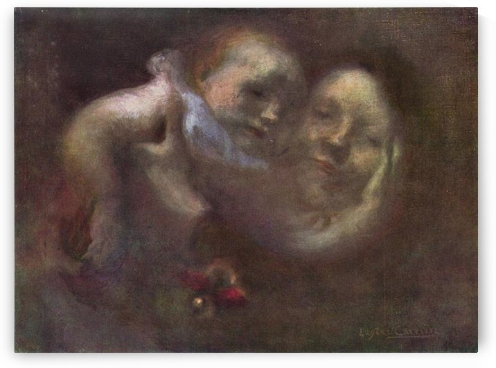 Maternity by Eugene Carriere by Eugene Carriere