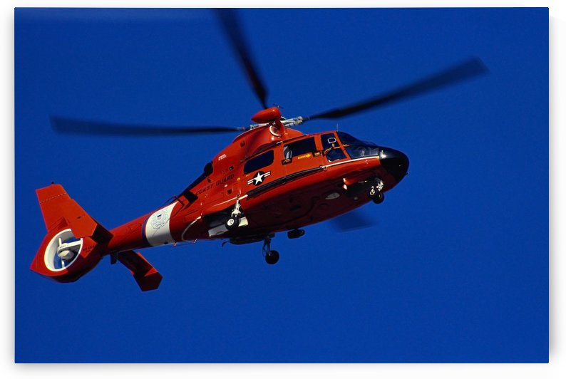 Coast Guard helicopter by StocktrekImages