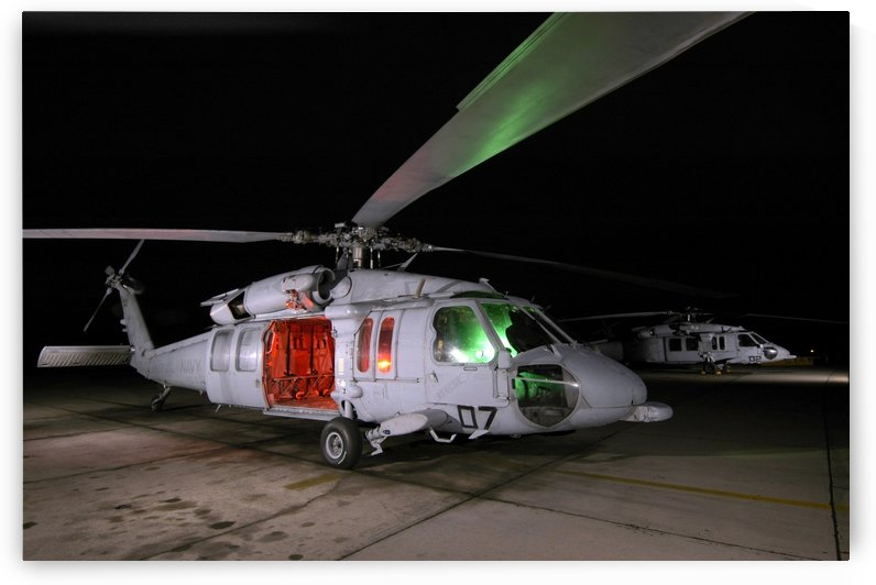 An SH-60 Seahawk. by StocktrekImages