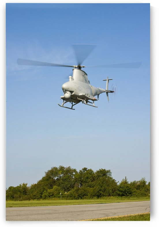 An MQ-8B Fire Scout unmanned aerial vehicle. by StocktrekImages