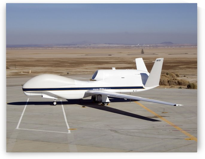 The Global Hawk unmanned aircraft. by StocktrekImages