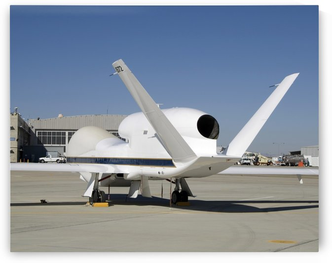 Global Hawk unmanned aircraft. by StocktrekImages