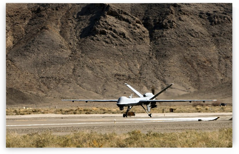 The MQ-9 Reaper. by StocktrekImages